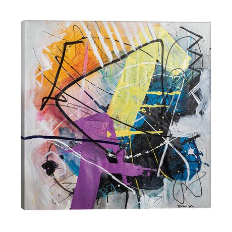 """Clash // Yossef Ben-Sason (26""""W x 26""""H x 1.5""""D)"""