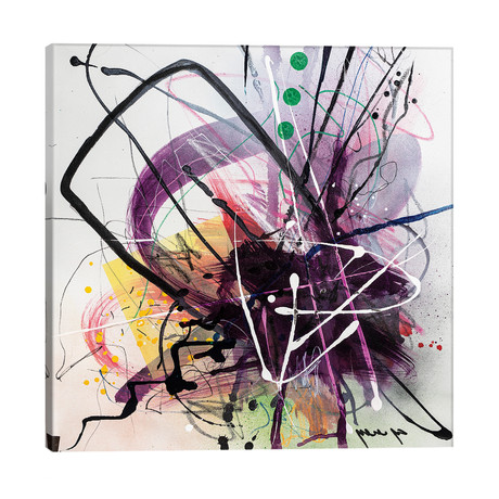 """Splash // Yossef Ben-Sason (26""""W x 26""""H x 1.5""""D)"""