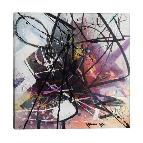 """Purple Haze // Yossef Ben-Sason (26""""W x 26""""H x 1.5""""D)"""