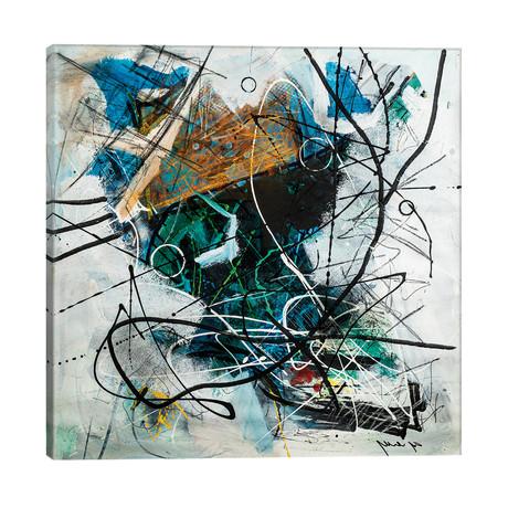 """Mind Symphony // Yossef Ben-Sason (26""""W x 26""""H x 1.5""""D)"""