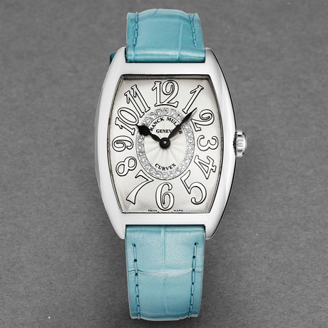 Franck Muller Ladies Curvex Quartz // 7502 QZ CD 1R RELIEF AC