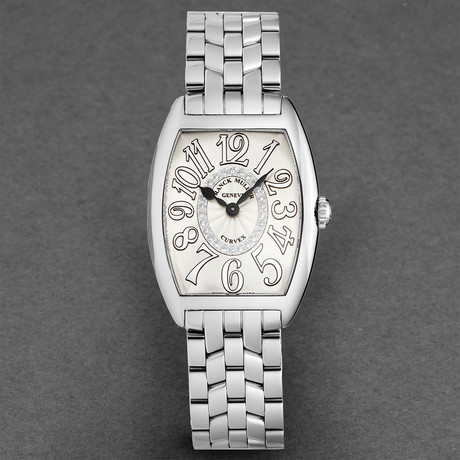 Franck Muller Ladies Curvex Quartz // 7502 QZ CD 1R RELIEF O AC