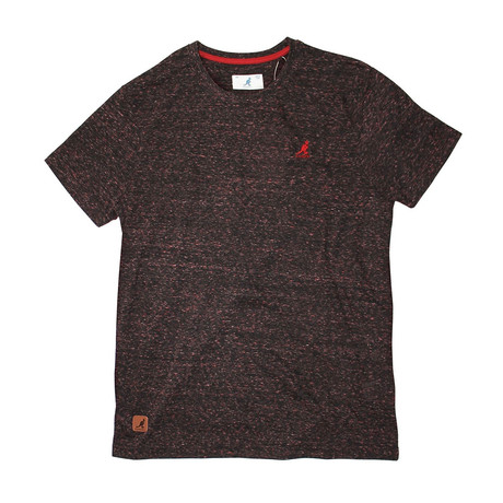 Tri Blend Short Sleeve T // Burgundy (S)