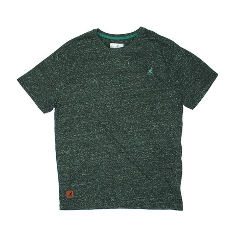 Pop Color Twin Galaxy Short Sleeve Tee // Emerald (S)