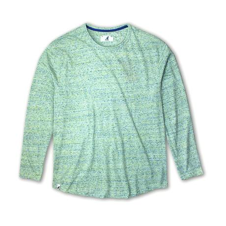 Tri Marl Long Sleeve T-Shirt // Mint (S)