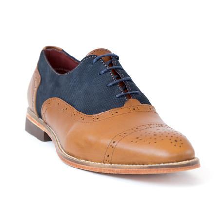Mielo Shoe // Blue + Brown (Euro: 37)