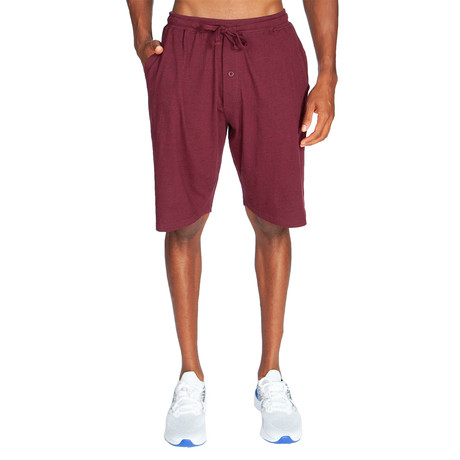 Lightweight Relaxed Fit Lounge // Maroon (S)