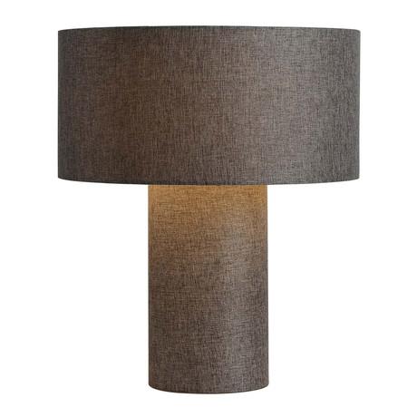 Moonlight Fabric Table Lamp (Ash)