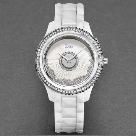 Dior Ladies White VIII Automatic // CD124BE4C002