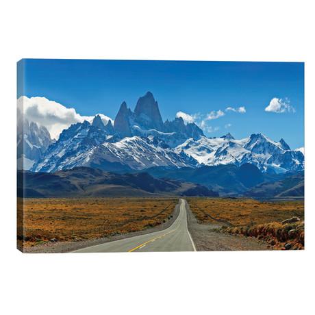 "Road To Patagonia // Peter Walton (40""W x 26""H x 1.5""D)"
