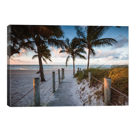 "Beach Sunrise, Key West I // Matteo Colombo (26""W x 18""H x 1.5""D)"
