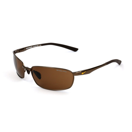 Men's Avid Wire Sunglasses // Walnut + Brown