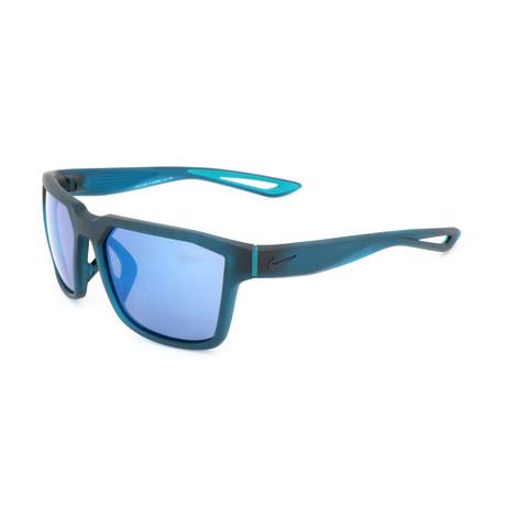 Unisex EV0993 Sunglasses // Blue + Gray Blue Flash