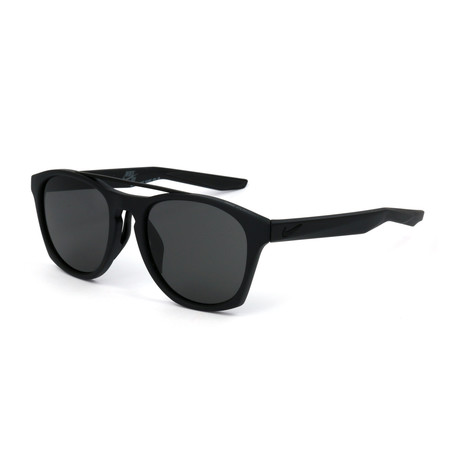 Men's EV1057 Sunglasses // Matte Black + Dark Gray