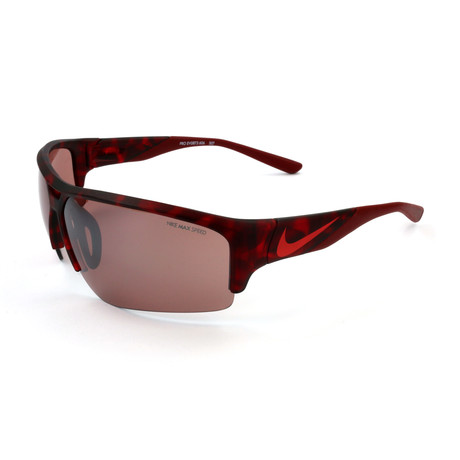Nike // Men's EV0873 Sunglasses // Red Tortoise