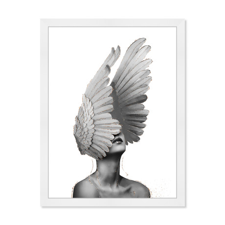 "Spread Your Wings (24""W x 32""H x 0.5""D)"