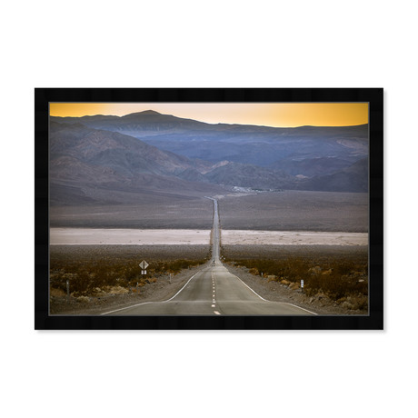 "Curro Cardenal // American Road IV (32""W x 22""H x 0.5""D)"