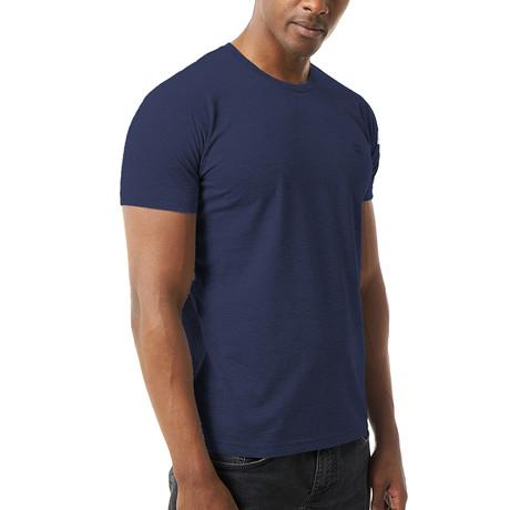 Velio T-Shirt // Navy (S)