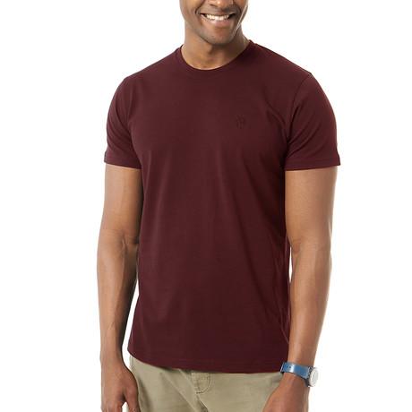 Velio T-Shirt // Bordeaux (S)