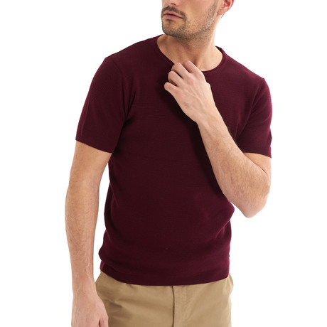 Zetico T-Shirt // Bordeux (S)