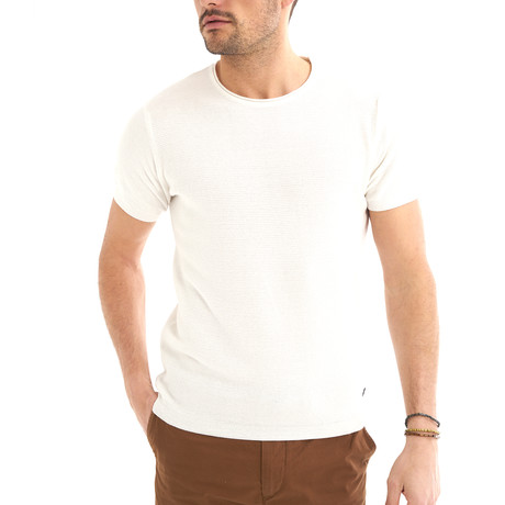 Zetico T-Shirt // Ecru (S)
