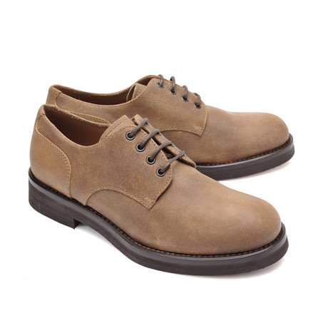 Leather Derby Shoe // Brown (Euro: 39)