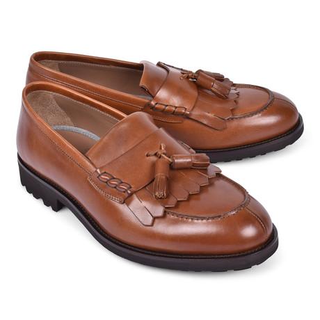 Tassel Loafer Shoe // Brown (Euro: 39)