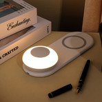 Wireless Charger with Mobile Light