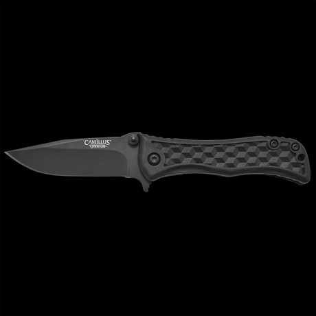 """Camillus Erupt // 5.5"""" Folding Knife // AUS-8 Japanese Steel // Quick Launch Bearing System"""