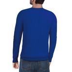 Slim Crew Neck Sweater // Royal Blue (3XL)