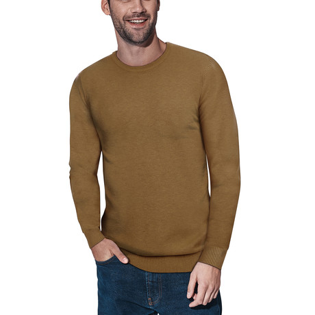Slim Crew Neck Sweater // Copper (S)