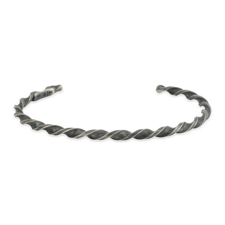 "Tapered Twisted Cuff Bracelet (Small: (2.1""- 2.3"" Ø))"