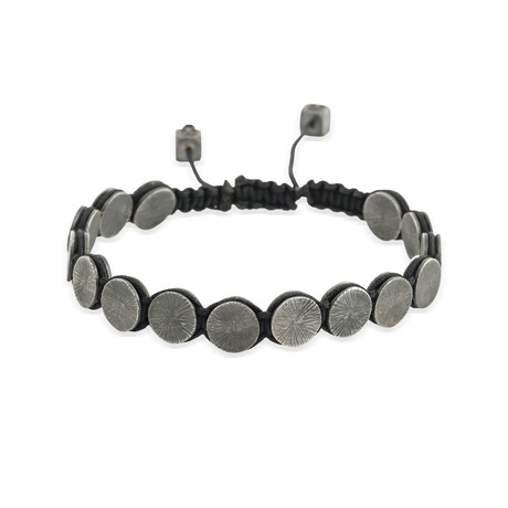 "Round Charm Stretch Bracelet (Small: 2.1""- 2.3""Ø)"