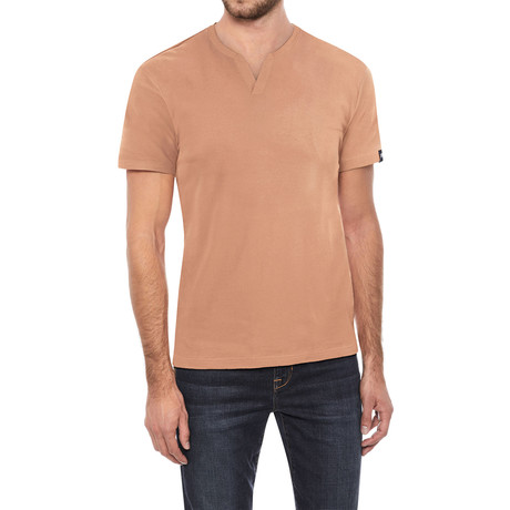 V-Notch T-Shirt // Cantaloupe (S)