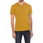 V-Notch T-Shirt // Tobacco (L)