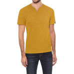 V-Notch T-Shirt // Tobacco (S)