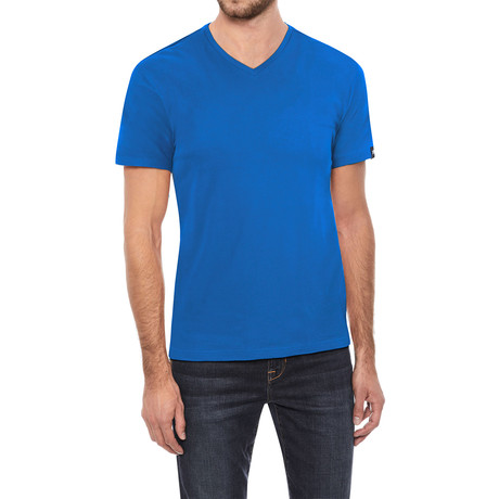 V-Neck T-Shirt // Ocean Blue (S)