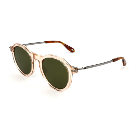 Men's 7091 Sunglasses // Peach + Green