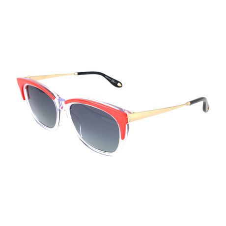 Women's 7072 Sunglasses // Orange + Crystal + Golf