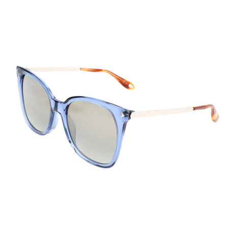 Women's 7097 Sunglasses // Blue + Silver