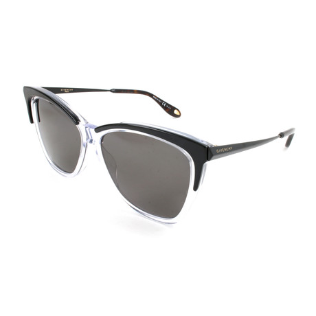 Women's 7071 Polarized Sunglasses // Black + Crystal
