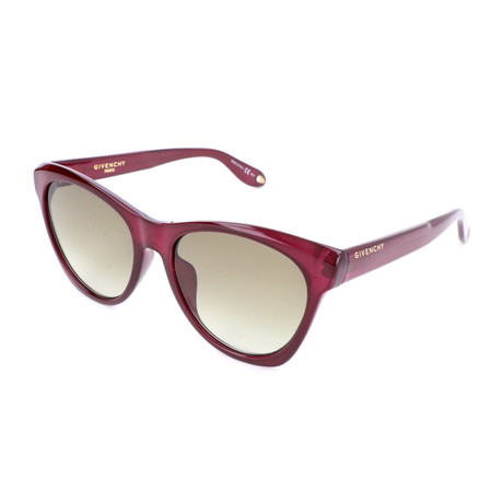 Women's 7068 Sunglasses // Red + Light Brown