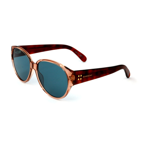 Women's 7122 Sunglasses // Orange + Brown + Blue
