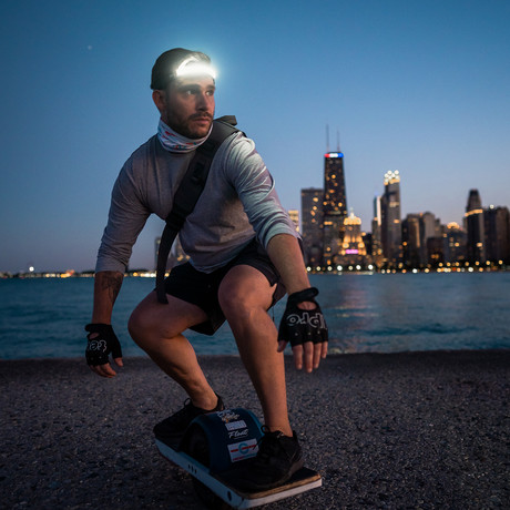 LED Headlamp // Wide Beam 350 Lumen