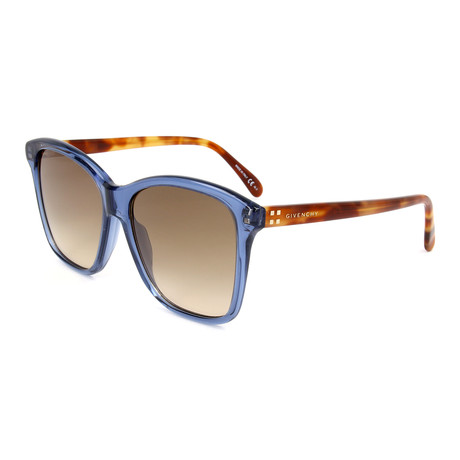 Women's 7108 Sunglasses // Blue + Havana