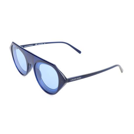 Men's CKNYC1854SR Sunglasses // Milky Navy