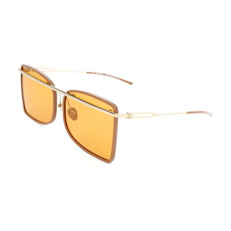 Unisex CK8578S Sunglasses // Camel