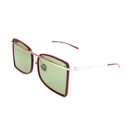Unisex CK8578S Sunglasses // Burgundy