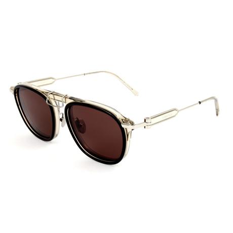 Men's CKNYC1883S Sunglasses // Brown + Crystal Taupe