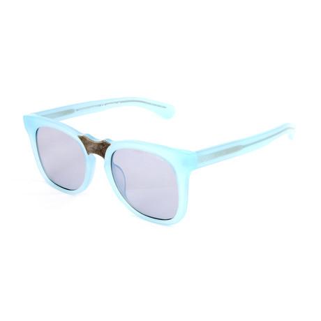 Unisex CKNYC1850S Sunglasses // Milky Light Blue